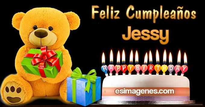Feliz Cumpleaños Jessy
