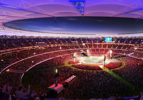 Tinuku Philips Lighting builds Perth Stadium LED system as world's largest