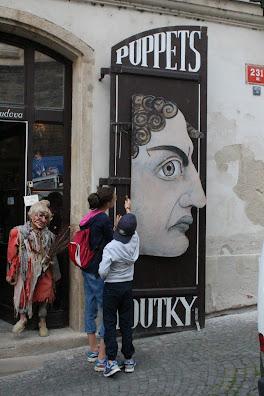 marionette Praga