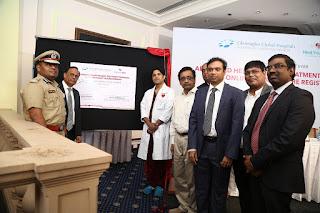 Gleneagles Global Hospitals and Vaso-Meditech Pvt Ltd launch India's first ever 'Advanced Heart Failure Treatment Program' with an aim to spread awareness on heart treatments available in the country and to start India's First Online Heart Failure Registry