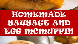 #recipe #food #drink #delicious #family #Homemade #Sausage #and #Egg #McMuffin
