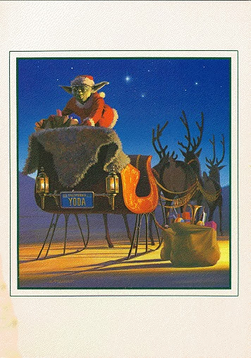 1982 Lucasfilm Christmas Card