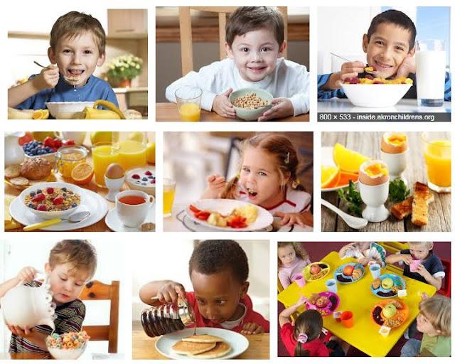 breakfast for children