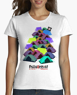 Camiseta Zona de tiendas Chica
