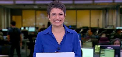 Audiências de 13/9/2019: Despedida de Sandra Annenberg faz média do Jornal Hoje crescer