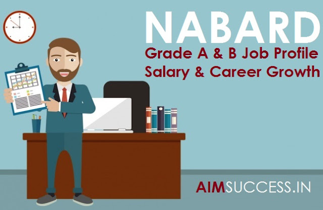 NABARD Grade A & B Job Profile, Salary & Career Growth
