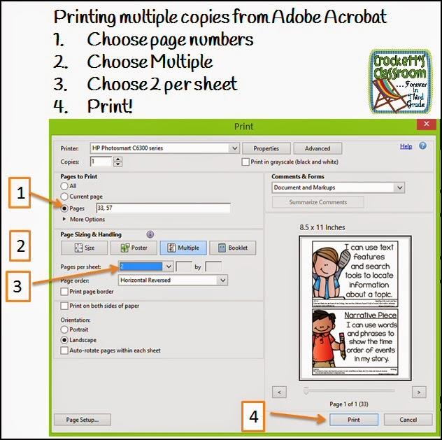 mulitsheet printing with Adobe Acrobat---Crockett's Classroom