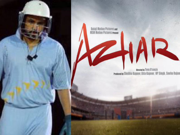 Complete cast and crew of Azhar (2016) bollywood hindi movie wiki, poster, Trailer, music list - Emraan Hashmi, Prachi Desai, Nargis Fakhri, Movie release date 13 May 2016
