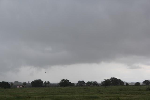 PRÉ-ESTAÇÃO CHUVOSA: Chove em todas as regiões do Estado entre o domingo e esta segunda-feira