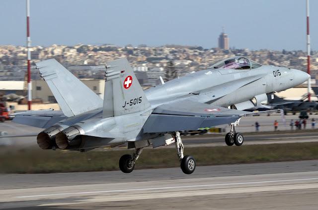 fa-18c hornet swiss air force