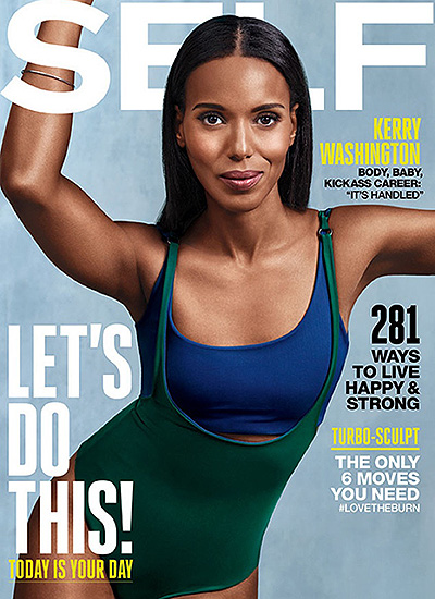 Kerry Washington for Self Magazine