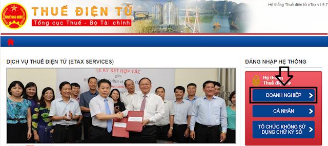 Hướng dẫn nộp thuế điện tử Thuedientu