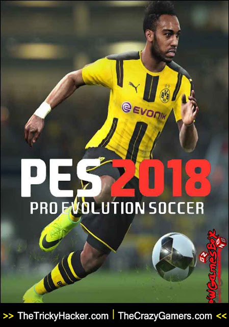 PES 2018 Free Download Game + Crack