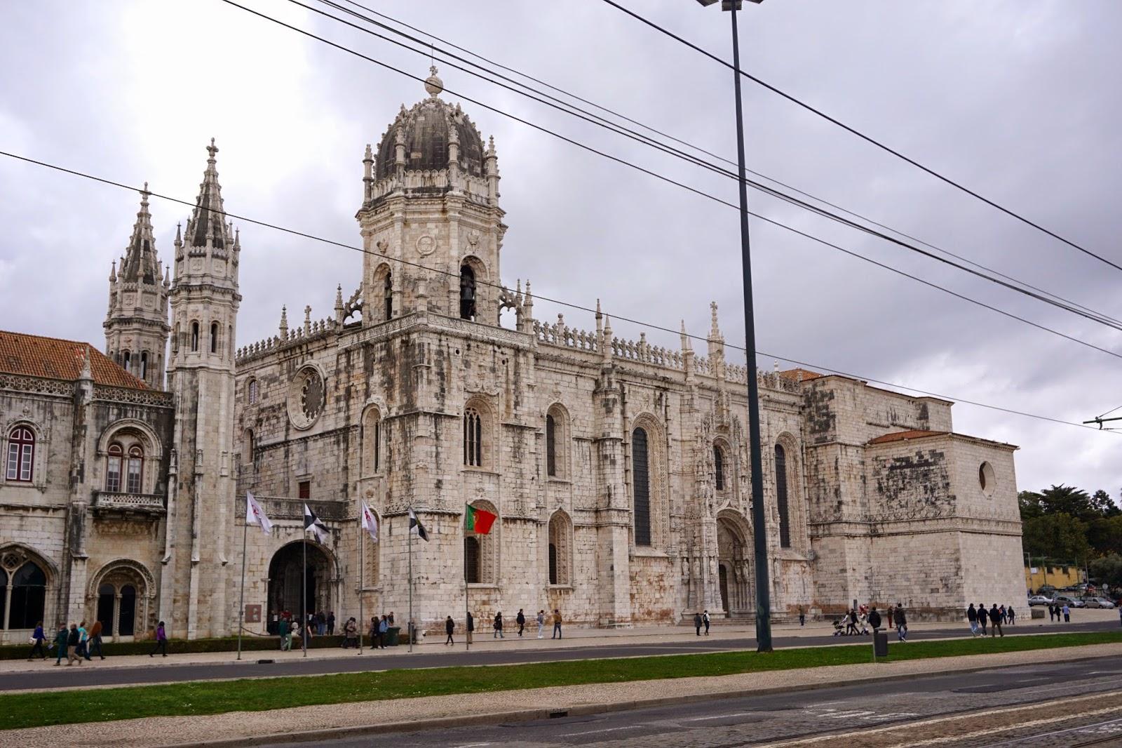 Mosteiro dis Jeronimos, Jeronimos Monastery in Lisbon