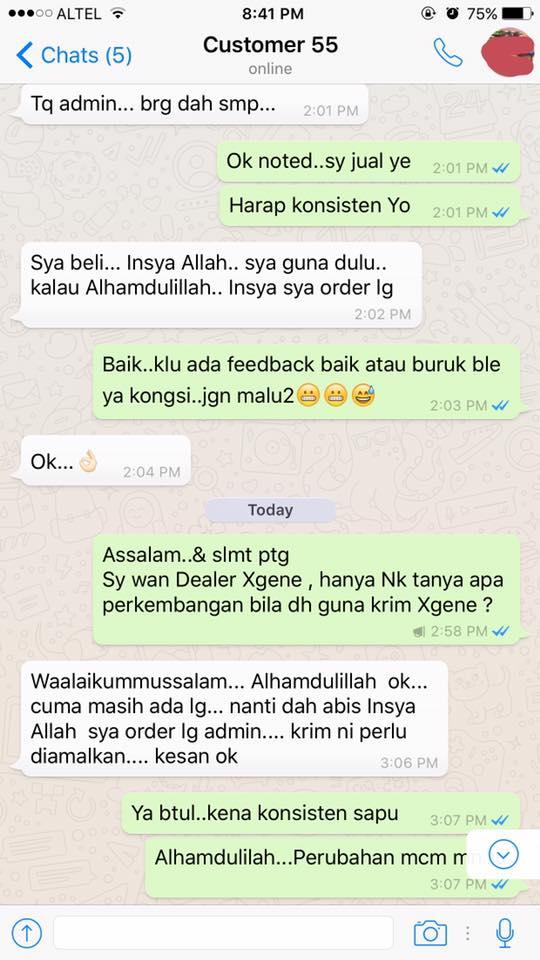 xgene royale perapi untuk lelaki   Formulasi Dr Ismail Tambi