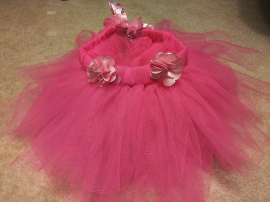 No-Sew Tutu For Baby