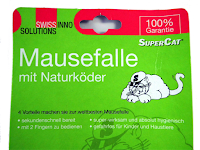 SuperCat Mausefalle: Verpackung