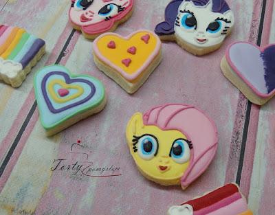 słodki stół kucyk pony