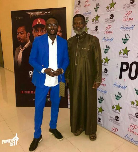Dr Oby Ezekwesili, Fela Durotoye, 2Baba hang out to watch Power of 1