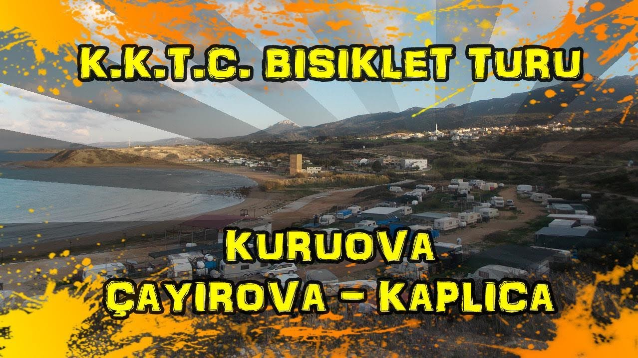 2018/12/22 K.K.T.C. Bisiklet Turu -Kuruova ~ Çayırova ~ Kaplıca