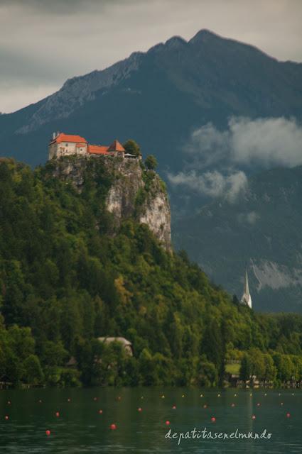Castillo del lago Bled