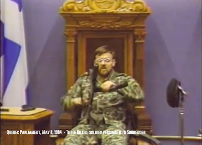 Corporal Lortie - Quebec Legislature 1984