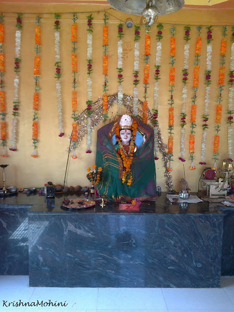 Image: Loving Devi Maa inside Temple