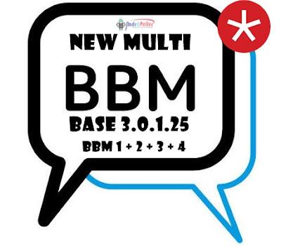 New Multi BBM V3.0.1.25 Apk Terbaru [Update] Gratis