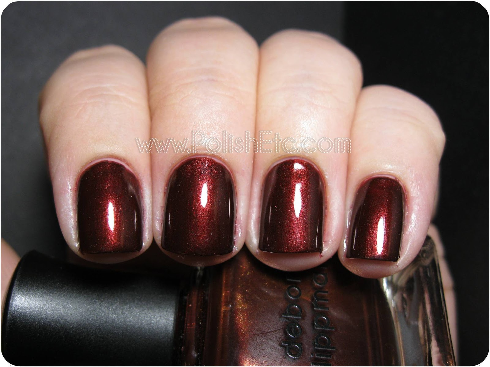 Deborah Lippmann Brown Eyed Girl: my quest for the perfect red/brown ...