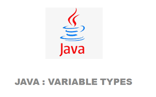 Java variable types