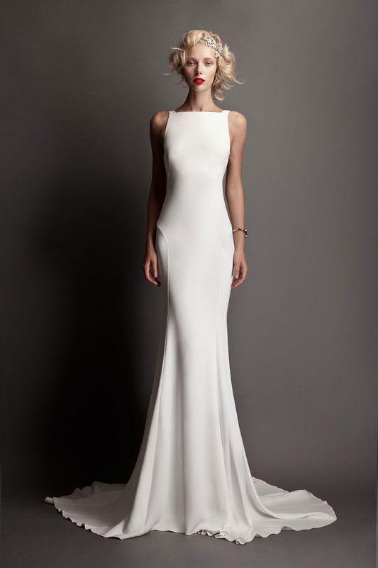 geeks fashion: Adorable Silk Wedding Dress Designs We Love