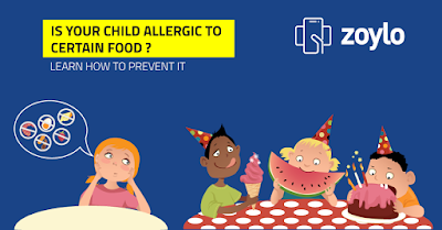 Symptoms and prevention for food allergy in children