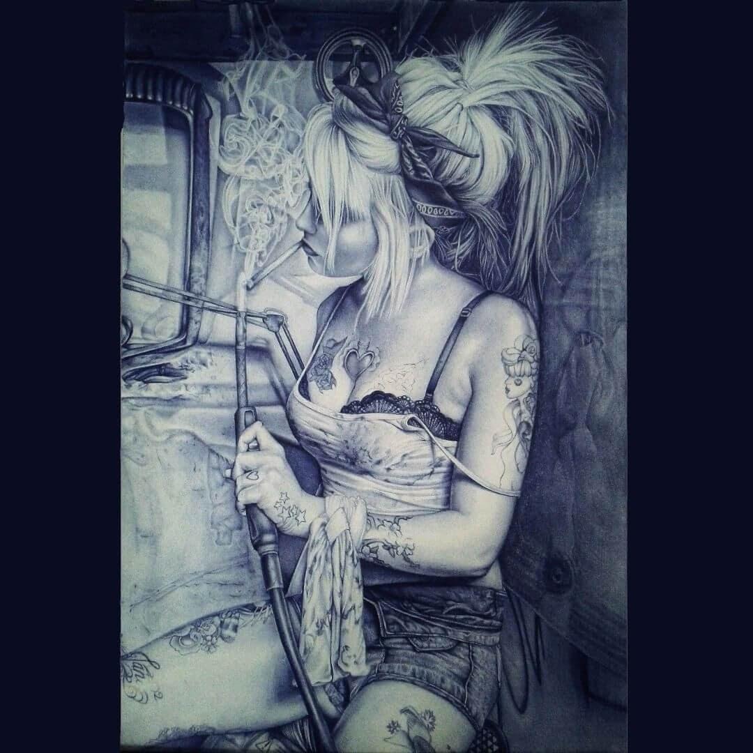 13-Tattoos-Sonia-Davel-Indelible-Ballpoint-Pen-Portraits-www-designstack-co