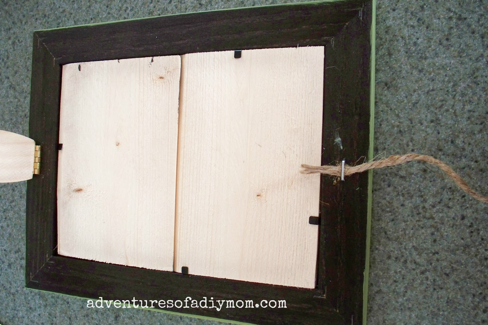 How to Make a Recipe Card Holder Frame