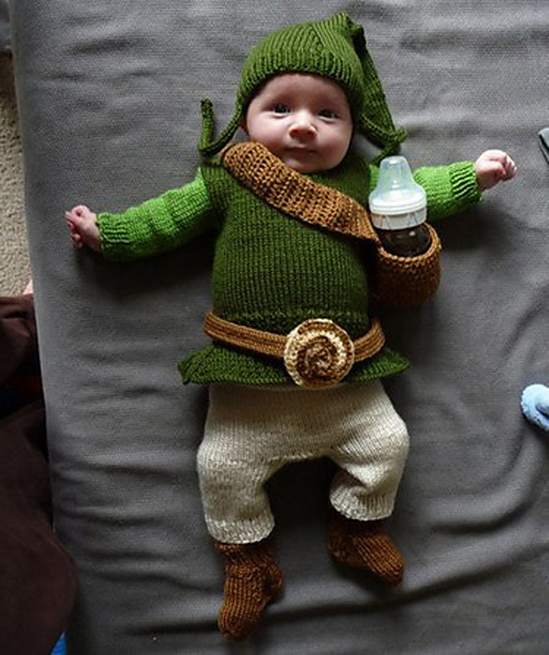 The Legend of Baby Link - Free Pattern