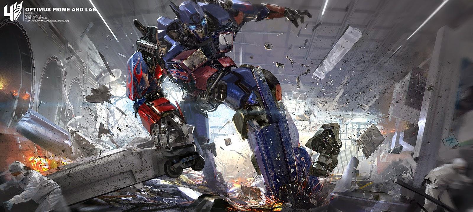 JohnsBlog: Transformers 4 Concept Art!!