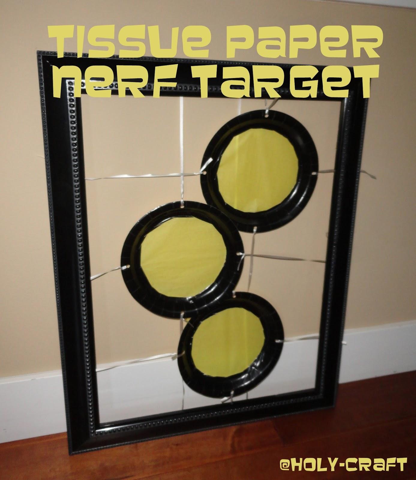 Nerf Target Practice Birthday Party