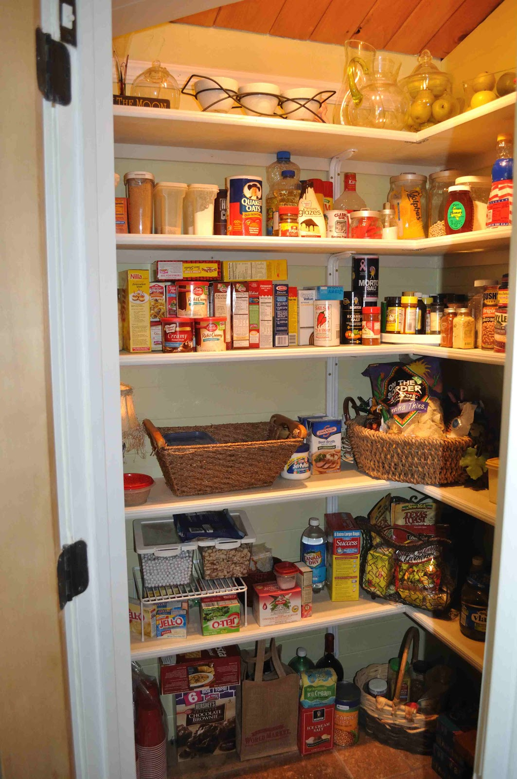 Once Upon A Cedar House: How To Install Pantry Shelves