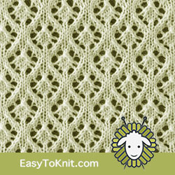 #EyeletLace 79 Maple Leaves. FREE Knitting Pattern!  #easytoknit #knitting