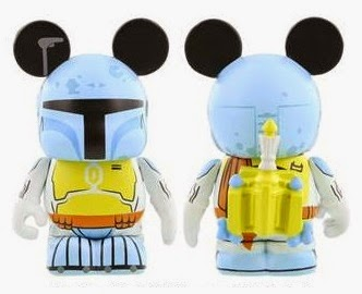 Star Wars Holiday Special Boba Fett Vinylmation Vinyl Figure by Disney