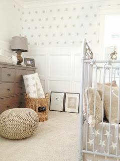 dormitorio bebé colores neutros