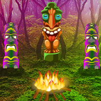 Games2Rule Tiki Bloom Forest Escape Walkthrough