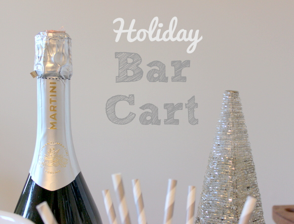 Holiday Bar Cart