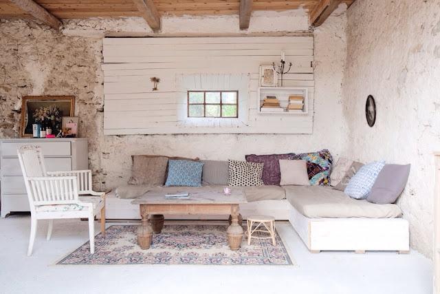Rustico-chic a Gotland