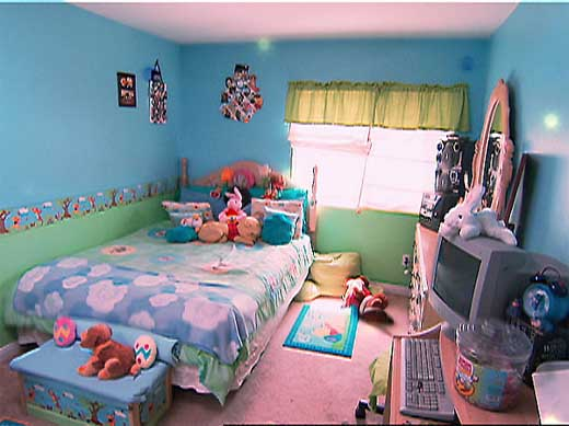 Blue Paint Interior Designs Bedroom
