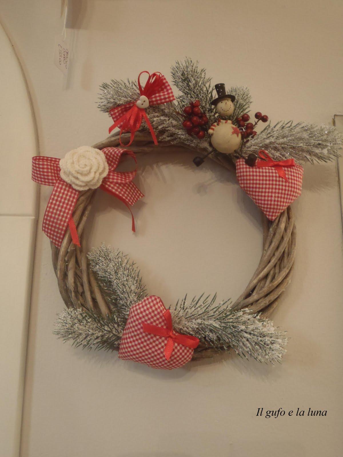 Conosciuto Il Gufo e la Luna shabby chic & country style: Ghirlande di Natale  RD69