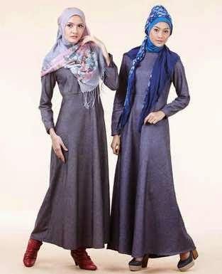 Model Baju Gaun Pesta Muslim Modis dan Trendy Terbaru