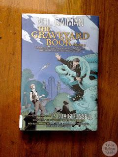 The graveyard book graphic novel book photo