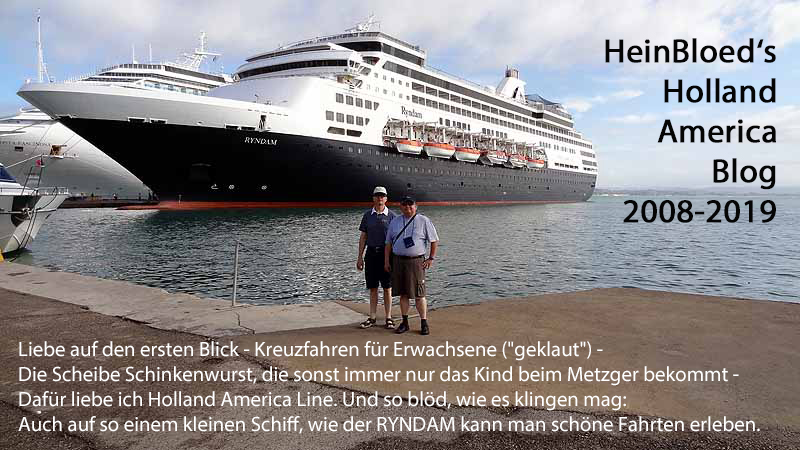 HeinBloed's Holland-America-Blog 2008-2019