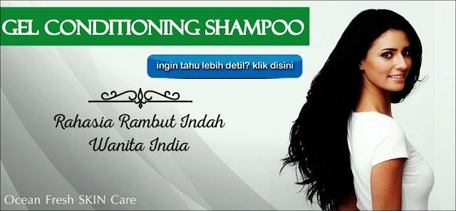 Gel Conditioning shampoo perawatan rambut Indahmu